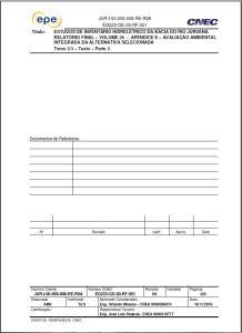 Relatório Avaliação Ambiental Integrada - Volume 3